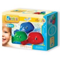 Bimbi Ballenitas Para Jugar En El Agua Para Bebés + 6 Meses