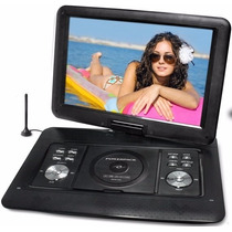 Dvd Portátil Powerpack Isdvd-7005-7 Pol-grav E Tv Digital