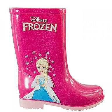 e389ac43343 Bota Galocha Infantil Frozen Barbie Disney Rosa Azul - R  64