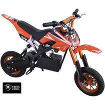 Mini Moto Eletrica Laranja 350w X Motos