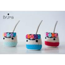 Mate Frida Funda Crochet