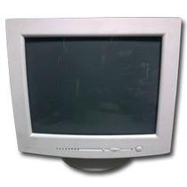 Remate Monitores Crt 17 Blancos Usados Con Garantía
