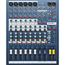 Consola De 6 Canales Exelente Calidad Soundcraft Epm6