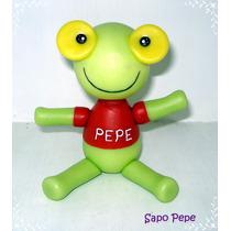 Sapo Pepe En Porcelana Fría - Adorno De Torta