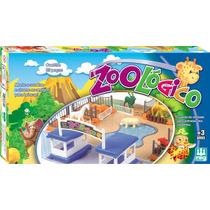 Brinquedo Zoológico Para Montar Com Animais E Guarita