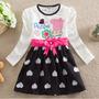Vestido Infantil Festa Aniversário Peppa Pig Criança Menina