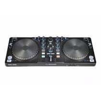 Controlador Mixer Dj American Pro Dmc200 Usb Midi