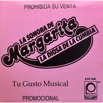 Cd Margarita La Diosa De La Cumbia Odiame Promo Usado