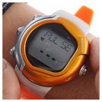 Relógio Monitor Cardíaco Com Sensor Medidor Pulso Caloria