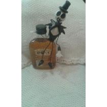 Botella De Whisky Criadores Con Jack En Porcelana Fria