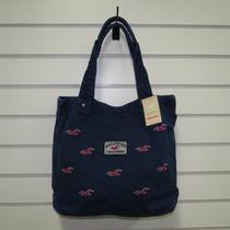 Bolsa Hollister Feminina Sacola Modelos Azul E Vermelha