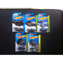 Hot Wheels- Lote Cinco Autos Nuevos