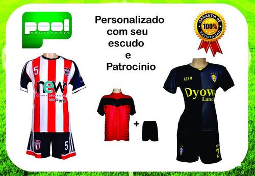 Uniforme Futebol 10 Camisas 10 Shorts - Frete Grátis - R  500 bc54d0f6042fc