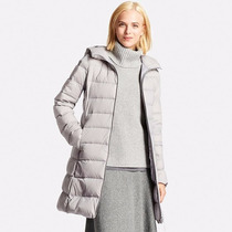 Campera Uniqlo Larga, Nuevo Modelo Ultra Light Down Stretch
