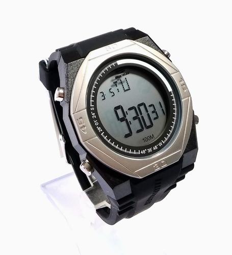76ea88af56b Relógio Mormaii Mo3374c 8p Preto prata - R  199