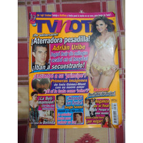 Revista Tv Notas Portada Adrian Uribe Poster Dulce Maria