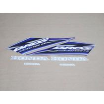 Kit Adesivos Honda Nxr 125 Bros Ks 2005 Azul