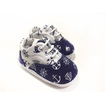 Zapatilla Estampada Marinero Bebe Gorditoo