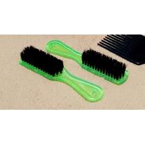 2x Escova De Barbeiro, Limpar E Pentear Cabelo Barba Bigode