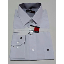 Kit 5 Camisas Masculina Slim Social Varias Marca Importadas