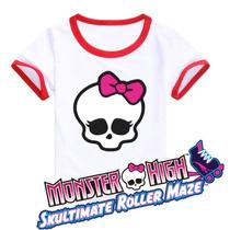 Blusas Monster High Mujer Niña Patines