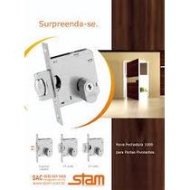 Fechad. Stam Porta Pivotante Quadrada Crom.1005