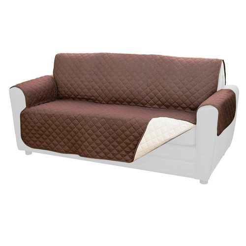 funda cobertor protectora reversible para sofa sillon