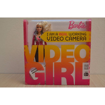 Muñeca Barbie Video Girl Camara De Video Integrada