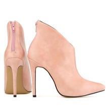 Plataforma Tobillo Botas Zapatos Imitación Cuero