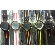 Kit/lote 10 Relógio Pulso Masculino Silicone Atacado/revenda