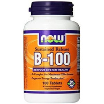 Now Foods Vitamina B-100 Tabletas