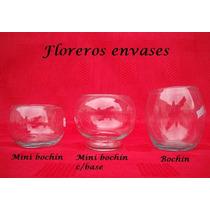 10 Bochines De Vidrio - Copones - Bochas - Cilindros