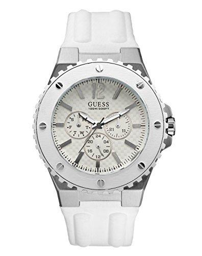 85e3d36fc3a1 Reloj Pulsera Guess W10603g1 Overdrive Blanco Para Hombre -   3