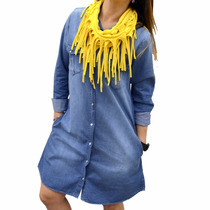Vestido De Jean The Big Shop