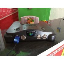 Video Game Nintendo 64 Com 13 Jogos
