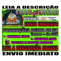 Habbo Hotel Moedas - 500c 10 Barras - Habbobr - Envio Rápido