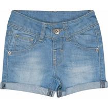 Short Infantil Baby Jeans Feminino Marisol