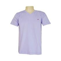 10 Camisetas Camisas Gola V Masculina Várias Marcas Kit C/10