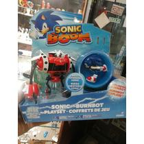 Sonic Boom + Burnbot