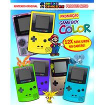 N O V O ! Game Boy Color Gbc Original Faço Até R$ 249,90 Rj