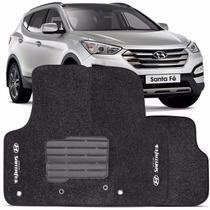 Tapetes Hyundai Santa Fé 7 Lugares Modelo Novo 7 Pçs.4mm