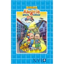 Biblia Para Niños Alegria Nueva Versión Internacional Azul