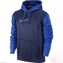 Chompa Polera Capucha Nike Hoodie 100% Original Talla L