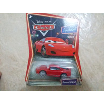 Disney Cars Ferrari F430 Mattel Mcqueen Mack Filmore Chick