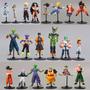 20 Dragon Ball Z Gt Kit Com 20 Bonecos Goku Gohan Coleção