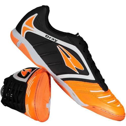 2f325f8a49e4c Chuteira Dray Topfly Iv Futsal Preta - R$ 59,90 em Mercado Livre