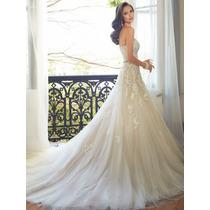 Vestido De Noiva Sereia Calda Longa Tomara Que Caia Luxo