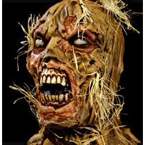 Mascara Espantapajaro Halloween Terror Miedo Disfraz Realist