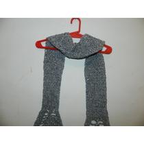 Bufanda Tejido Al Grochet Artesanal