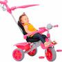 Triciclo Smart Confort Pink Bandeirante